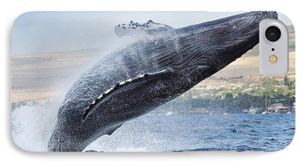 Humpback Whale Phone Case by M Swiet Productions
