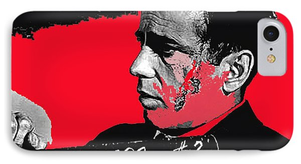 Humphrey Bogart The Maltese Falcon Makeup Photo Phone Case by David Lee Guss
