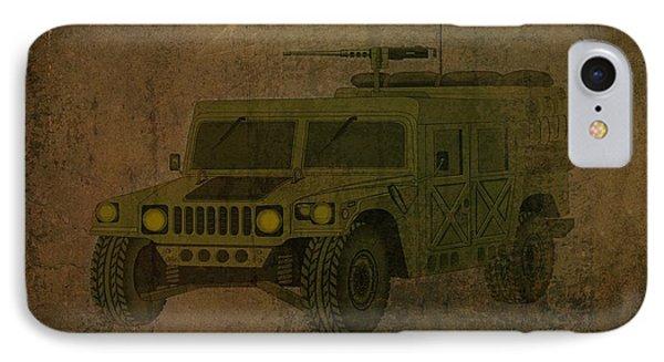 Humvee Midnight Desert  IPhone Case