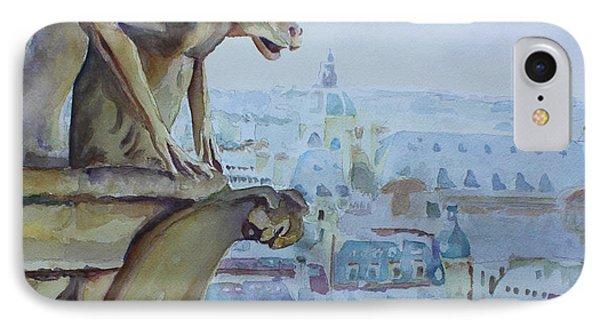 Hunchbacked Gargoyle IPhone Case by Jenny Armitage