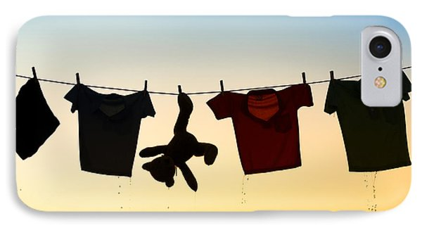 Hung Out To Dry IPhone Case by Tim Gainey