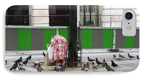 Hunger No More - Paris 2005 IPhone Case