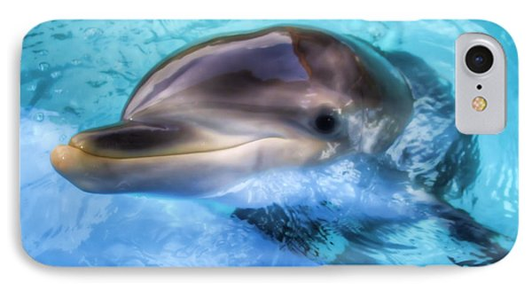 IPhone Case featuring the photograph Hungry Dolphin by Tim Stanley