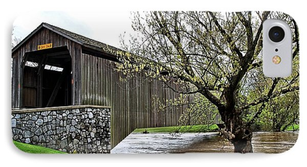 Hunsecker's Mill Covered Bridge IPhone Case