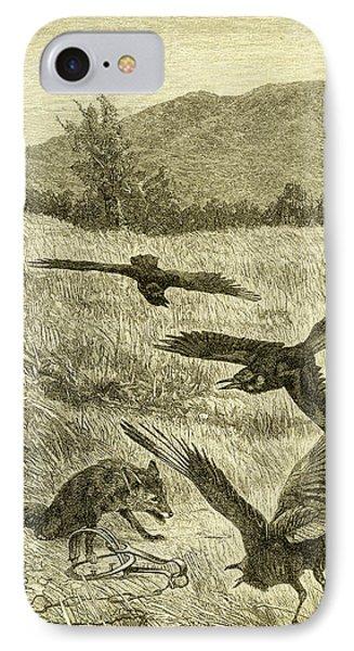 Hunt Fox Austria 1891 IPhone Case