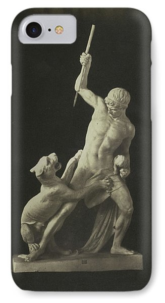 Hunter And Panther. Plaster Jerichau IPhone Case by Artokoloro