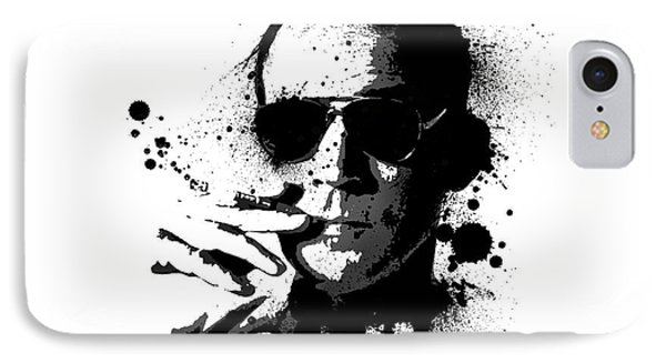 Hunter S. Thompson Phone Case by Laurence Adamson