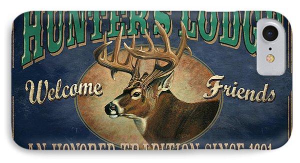 Hunters Lodge Deer Phone Case by JQ Licensing