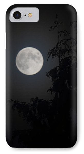 Hunters Moon IPhone Case by Randy Hall