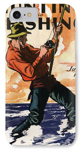 Hunting And Fishing IPhone Case by Gary Grayson