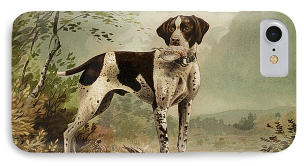 Hunting Dog Circa 1879 IPhone Case