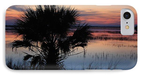 Hunting Isalnd Tidal Marsh Phone Case by Michael Weeks