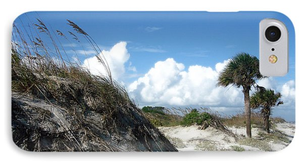 Hunting Island - 9 IPhone Case by Ellen Tully