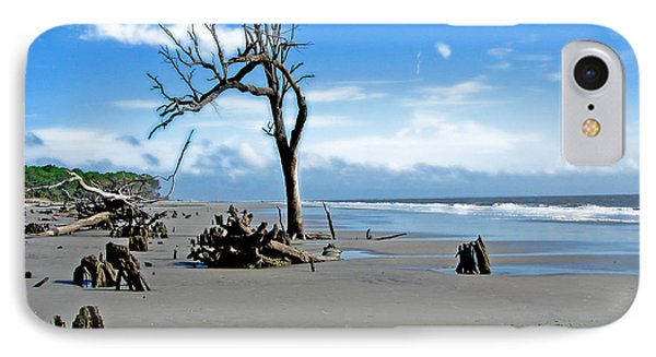IPhone Case featuring the photograph Hunting Island - 1 by Ellen Tully