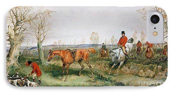 Hunting Scene Phone Case by Henry Thomas Alken