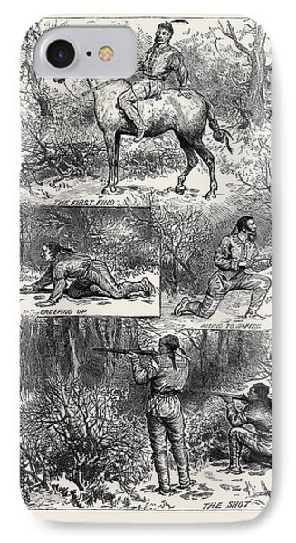 Hunting Sketches Among The Indians Of Minnesota 1880 IPhone Case