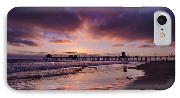 Huntington Beach California IPhone Case by Sean Foster