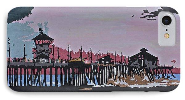 Huntington Beach Pier 1 IPhone Case