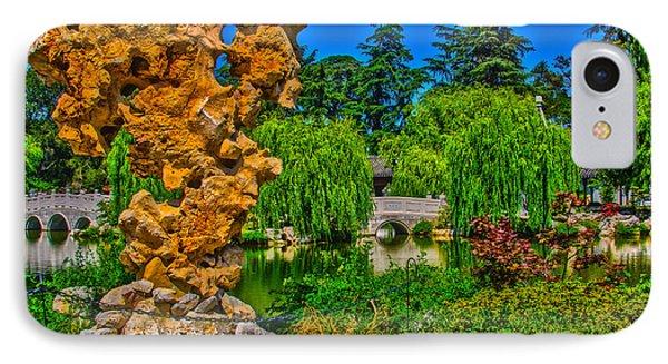 Huntington Gardens Ca IPhone Case by Richard J Cassato