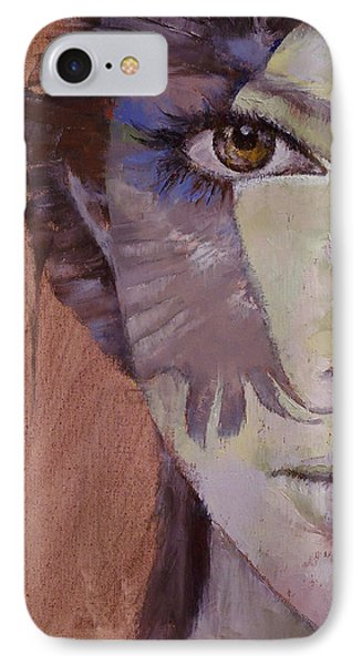 Huntress IPhone Case by Michael Creese