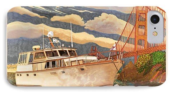 Sausalitos Hurricane Gulch Anchorage IPhone Case by Jack Pumphrey