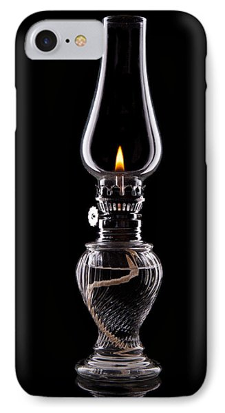 Hurricane Lamp Still Life IPhone Case by Tom Mc Nemar