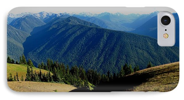 Hurricane Ridge IPhone Case by Kathy Long