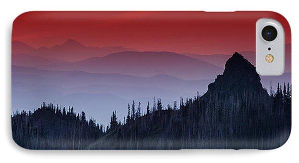 Hurricane Ridge Sunset Vista IPhone 7 Case