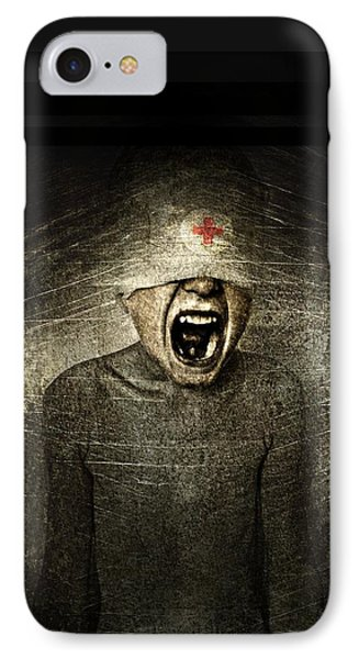 Hurt IPhone Case by Johan Lilja