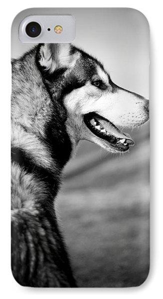 Husky Portrait IPhone Case