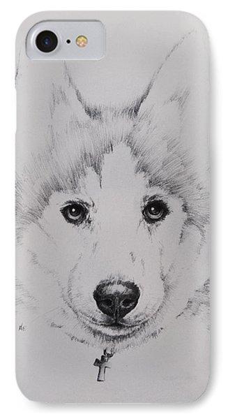 Husky IPhone Case by Rachel Christine Nowicki