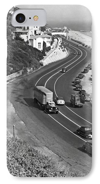 Hwy 101 In Southern California IPhone Case