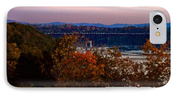 Hwy 90 Bridge IPhone Case by Ken Frischkorn