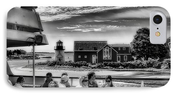 Hy-line To Nantucket IPhone Case by Jack Torcello