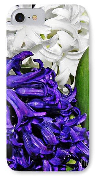 Hyacinths IPhone Case by Sarah Loft
