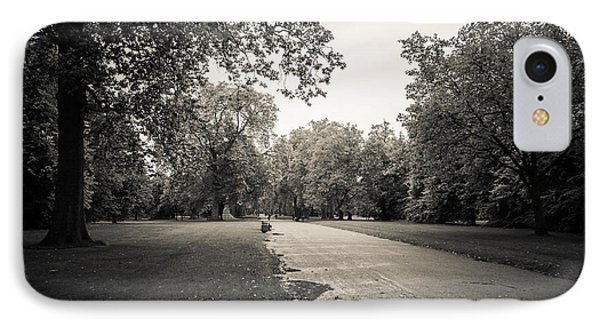 Hyde Park - For Eugene Atget IPhone Case by Ross Henton