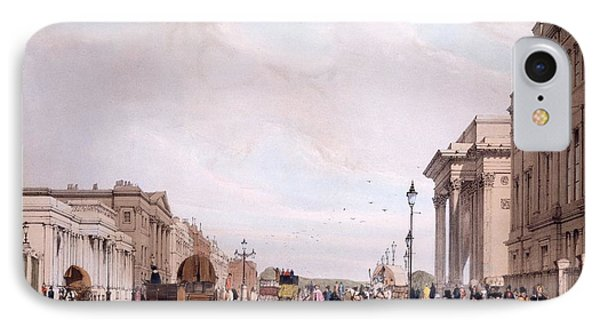 Hyde Park Corner, Looking IPhone Case by Thomas Shotter Boys