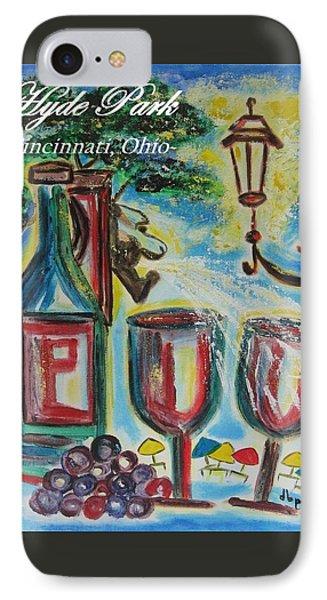 Hyde Park Square - Cincinnati Ohio Phone Case by Diane Pape