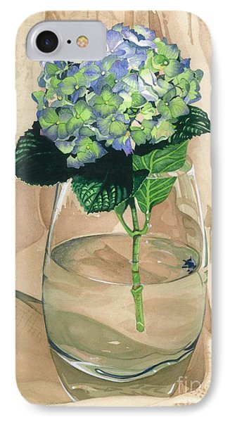 Hydrangea Blossom IPhone Case by Barbara Jewell