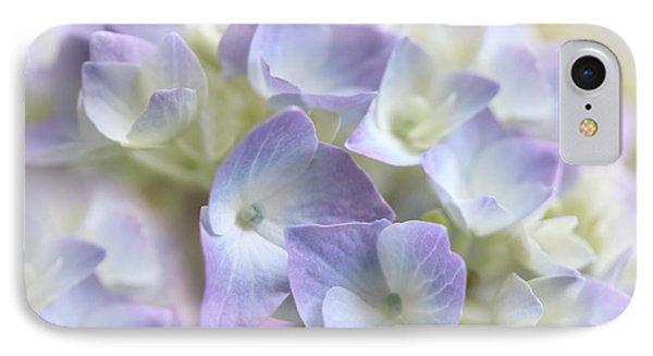 Hydrangea Floral Macro IPhone Case by Jennie Marie Schell
