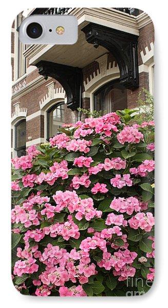 Hydrangeas In Holland Phone Case by Carol Groenen