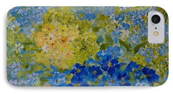 Hydrangeas IPhone Case by Joanne Smoley