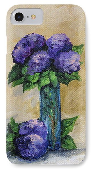 Hydrangeas IPhone Case by Torrie Smiley
