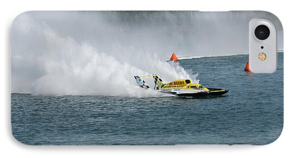 Hydroplane Gold Cup Race Phone Case by Michael Rucker