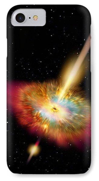 Hypernova IPhone Case by Don Dixon