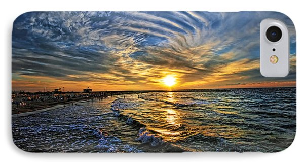 Hypnotic Sunset At Israel IPhone Case