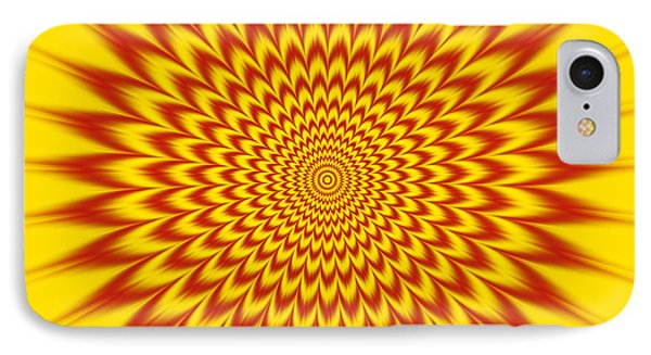 Hypnotic Vibes IPhone Case by Gianni Sarcone