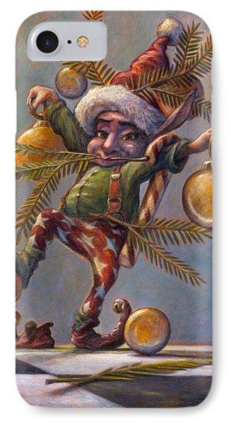 I Am A Tree IPhone Case by Leonard Filgate