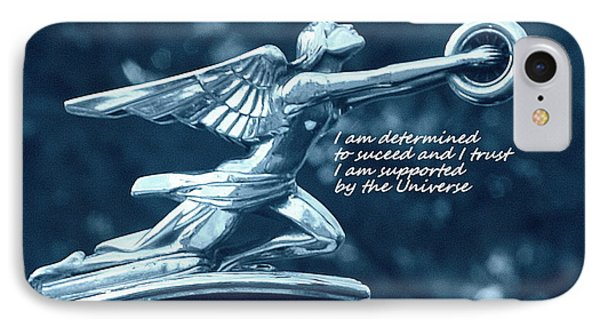 I Am Determined IPhone Case by Patrice Zinck