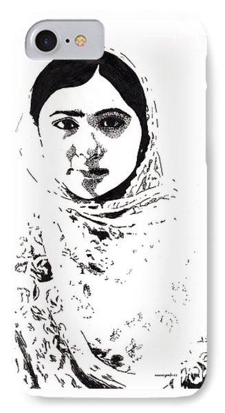 I Am Malala. IPhone Case